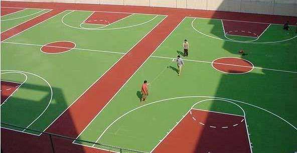 硅PU球场材料生产厂家:长沙迈乐体育设施有限公司
