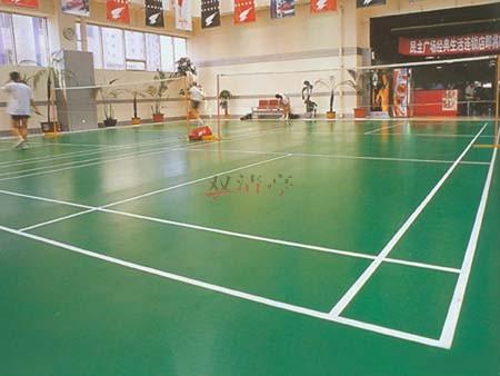 室内pvc羽毛球场运动场地