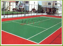 硅PU塑胶网球场