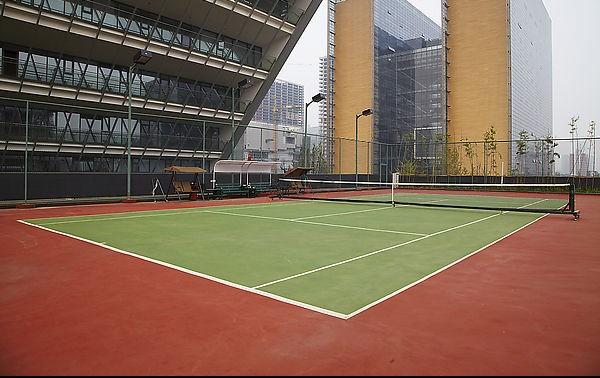 橡胶卷材 网球场