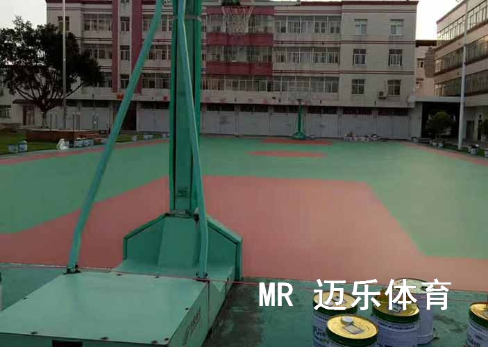 塑胶篮球场地