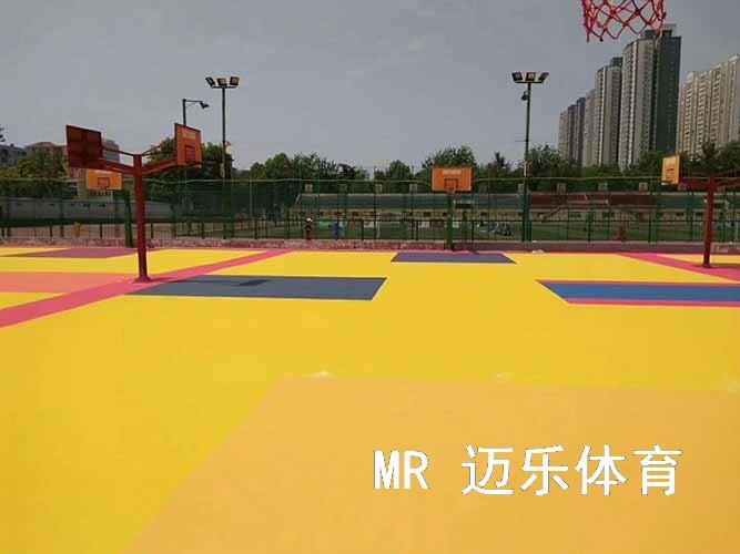湖南塑胶篮球场施工