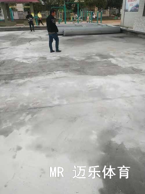 长沙门球场施工