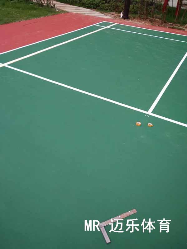 湖南羽毛球场施工