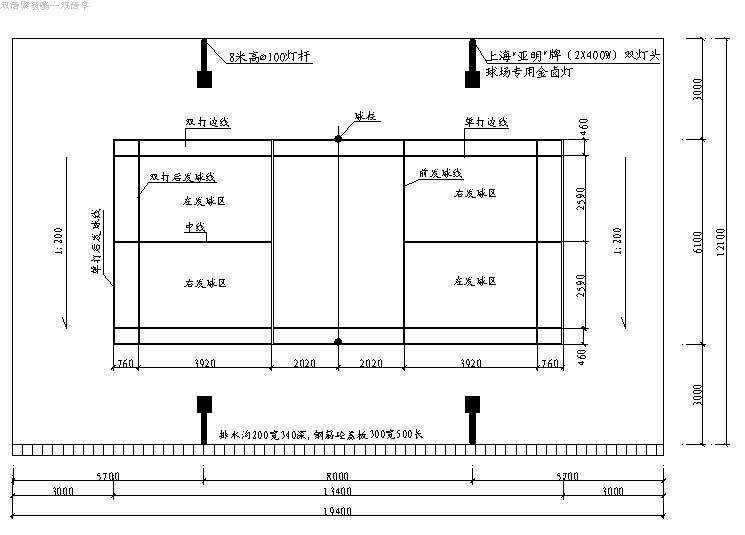 平面图木地板的尺寸