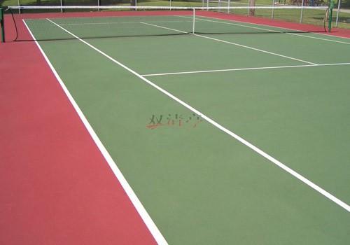 硅pu网球场篮球场价格