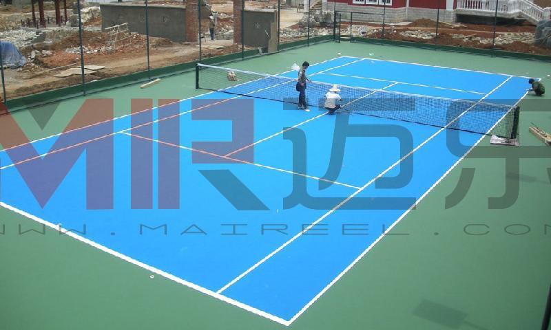 硬地丙烯酸网球场