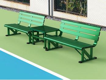网球场休息椅