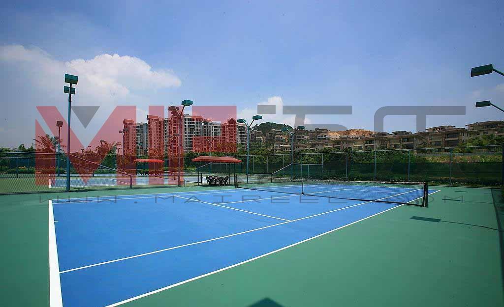 塑胶网球场地