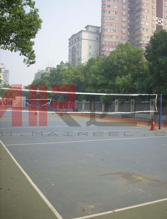 塑胶排球场地