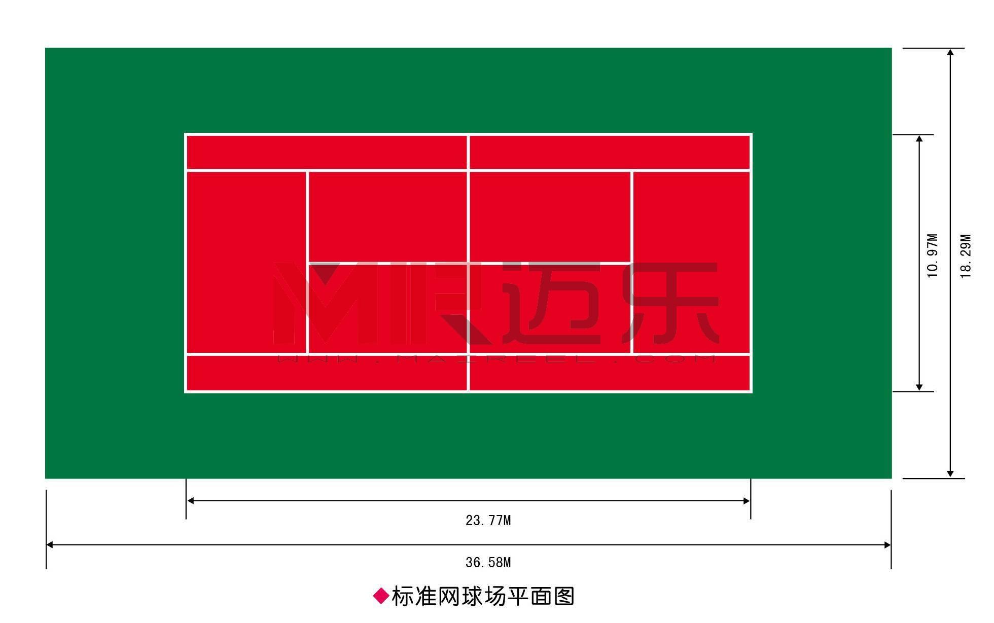 塑胶网球场施工方案