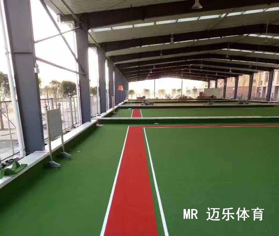塑胶球场—人造草坪门球场钢结构门球场地
